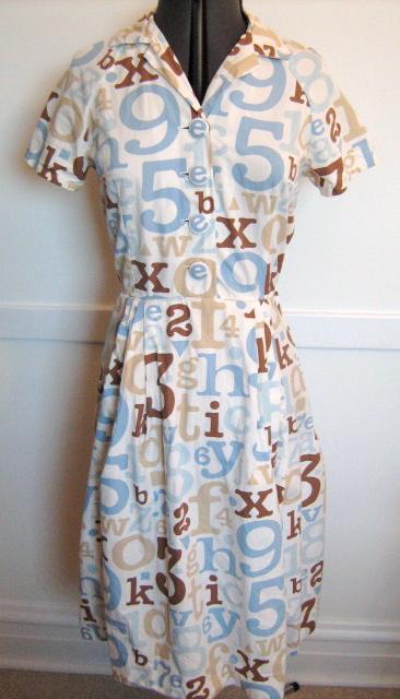 DwellBaby Target fabric dress