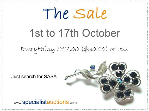 specialist auction sales