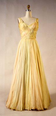 1940s basketweave dress