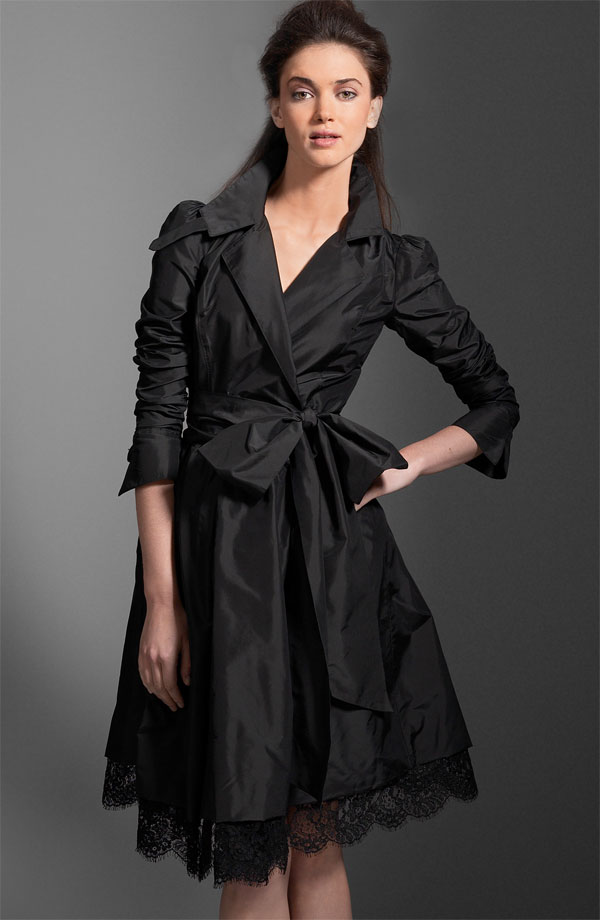 DVF taffeta dress