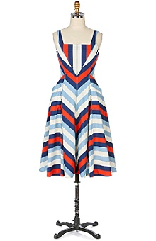 Anthropologie white gloves dress