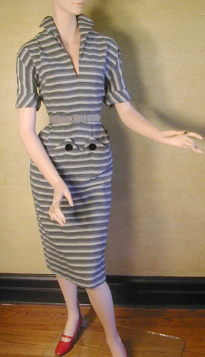 Stripey Eyes dress
