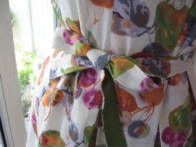 London Times floral shirtdress