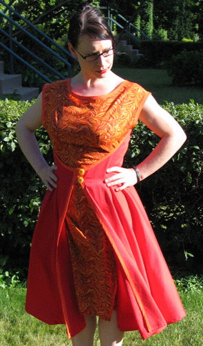 retro Butterick 4790