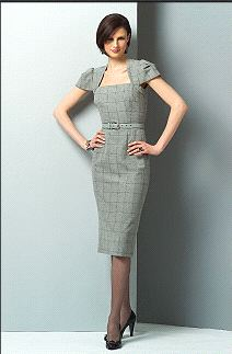 Vogue Mouret dress