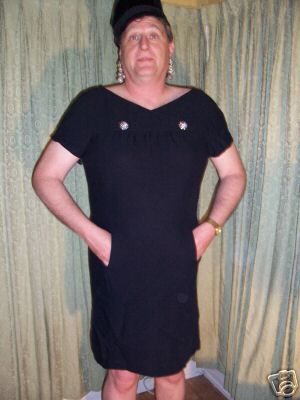 fred in a dress