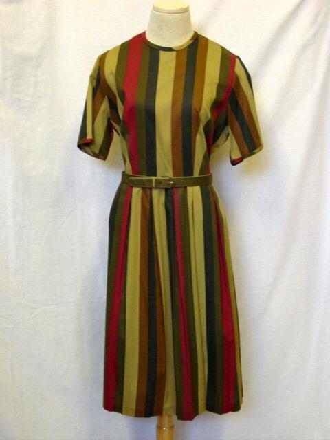 striped olive dress drabble