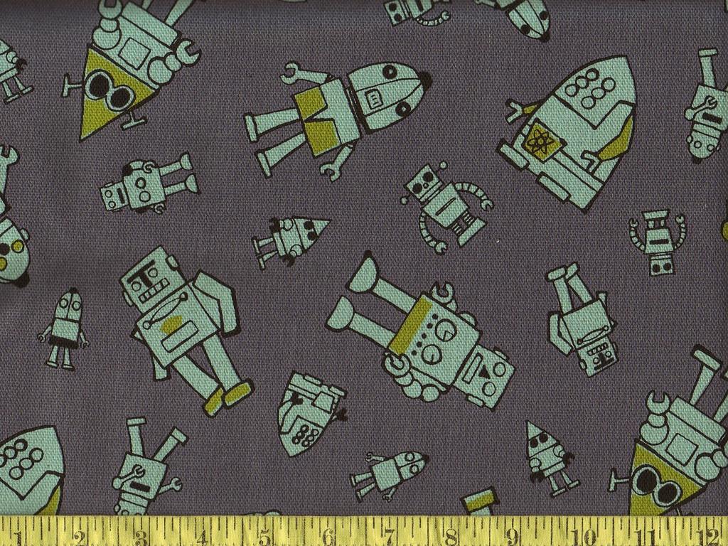 robot fabric!