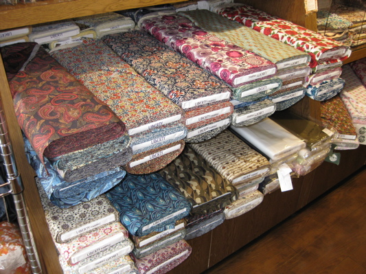 Fabric Shopping in Japan