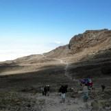 Verso Barafu Camp (4550 m)