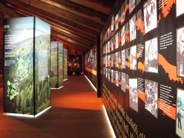 Interno museo Algudnei