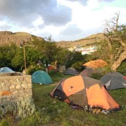 Il campeggio del mitico Hostel del Lago (ph. L. Vallata)