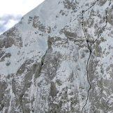 Cimon di Palantina 2195m, tracce di salita