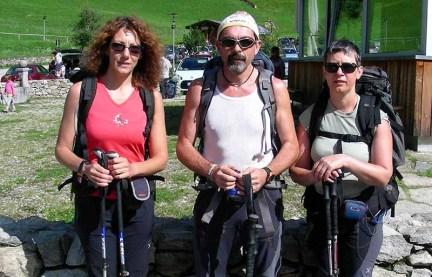 Saba Bertola, Enrico Spada e Elisa Pirotta (Cai Nerviano)