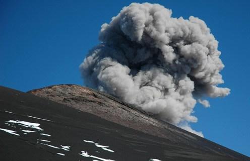 Etna, attività del Cratere di sud-est