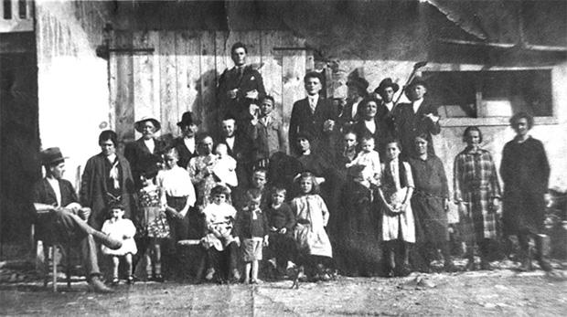 Famiglia Maoret (Jenua) da Menin nel 1920