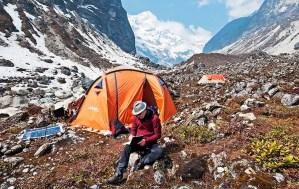 1. Tenda mensa al Campo Base Operativo 3700 m (ph E. Ferri – K2014.it)