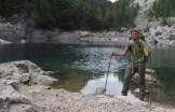 Uno dei laghi della Valle dei sette laghi nel Parco Nazionale del Triglav, 19 giugno