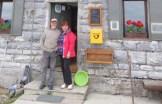 I gentilissimi rifugisti sloveni al Monte Porezen, 17 giugno