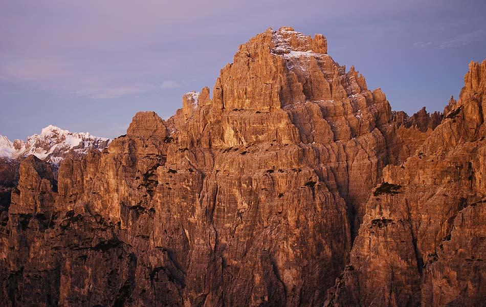 La bella rocca di Croda Cimoliana (ph. Loris De Barba)