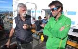 Sandro Filippini e Hervé Barmasse al IMS Walk Day 2014 (ph. Teddy Soppelsa)