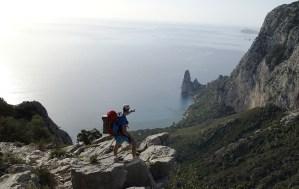 Day2: La gugia di Pedra Longa vista dal Cuile de us piggius