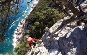 Day5: Ultimi passaggi in arrampicata verso Cala Sisine