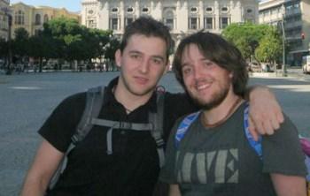 Alessandro Menegaz e Michel Bortoluz a dx
