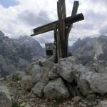 Croce di vetta di Vallon Bianco