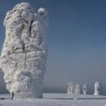 I surreali 7 Giants durante la spedizione di Stefan Glowacz