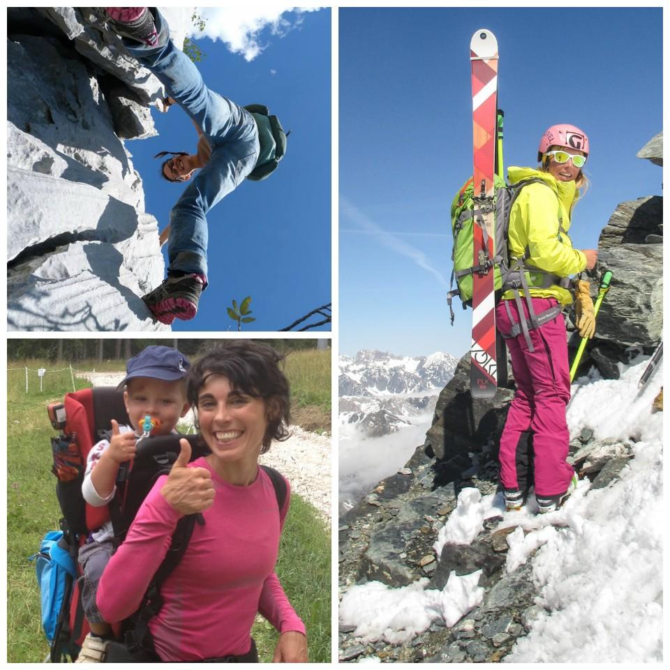 La montagna al femminile, uno dei tanti volti della montagna ed anche del Club Alpino Italiano (foto blogger contest altitudini.it)