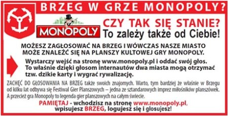 Brzeg W Monopoly