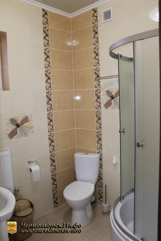 Санузел - душевая кабина, туалет