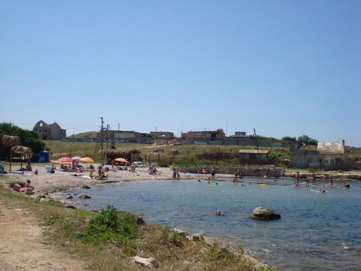 Пляж Ребзик возле нашей гостиницы