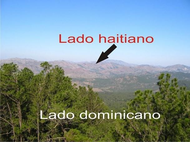 Deforestación en Haití