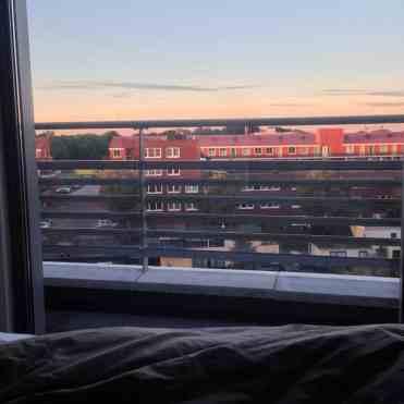 Wakker worden met zonsopgang