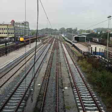 Op station Hoorn