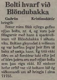 boltinn1987