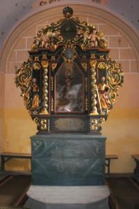 Markuška, oltár, foto E.Šmelková