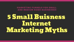 small business marketing myths