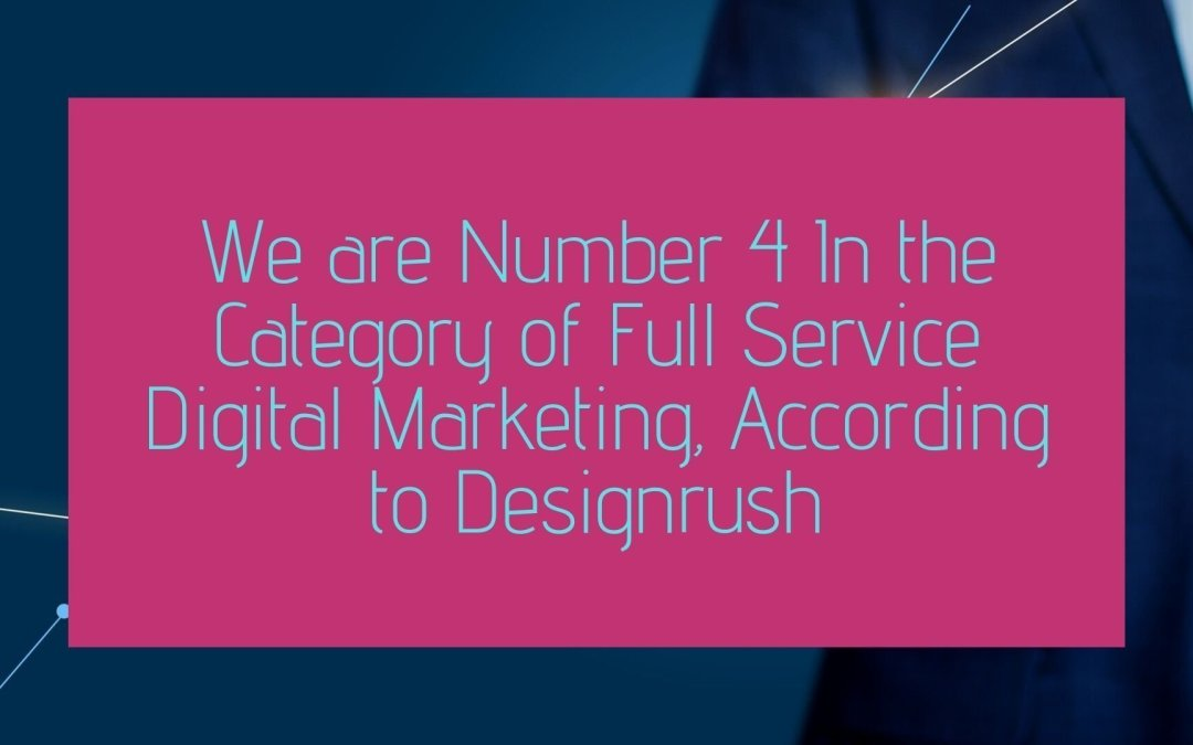 Designrush rated UK digital marketing agency
