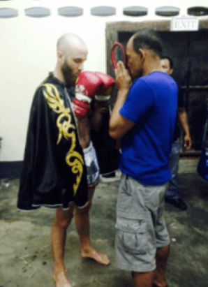 muay thai pre fight ritual mongkon mongkol headband