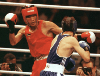 Somluck Kamsing muay thai boxing summer olympics