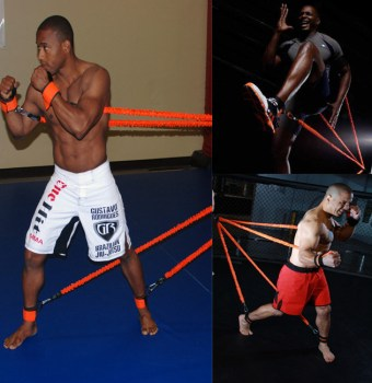 muay thai resistance band training