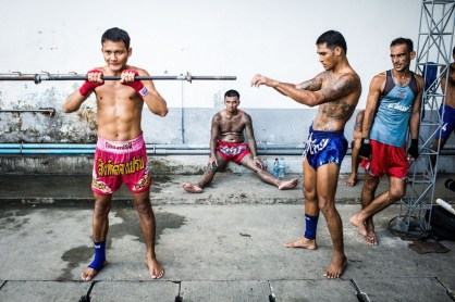strength and conditioning workout for muay thai