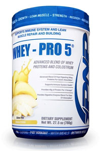 whey protein 5 for post workout muay thai