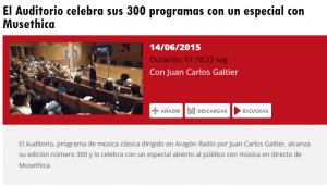 arago radio concert