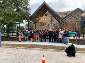 Dow Elementary Park Ribbon Cutting - January 11, 2020