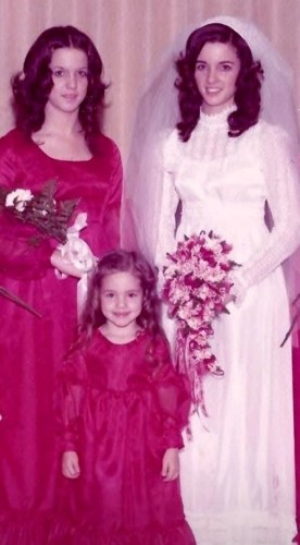 1970s wedding