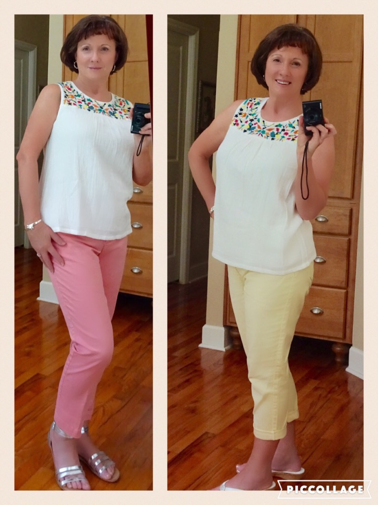Stitch Fix Embroidered Blouse